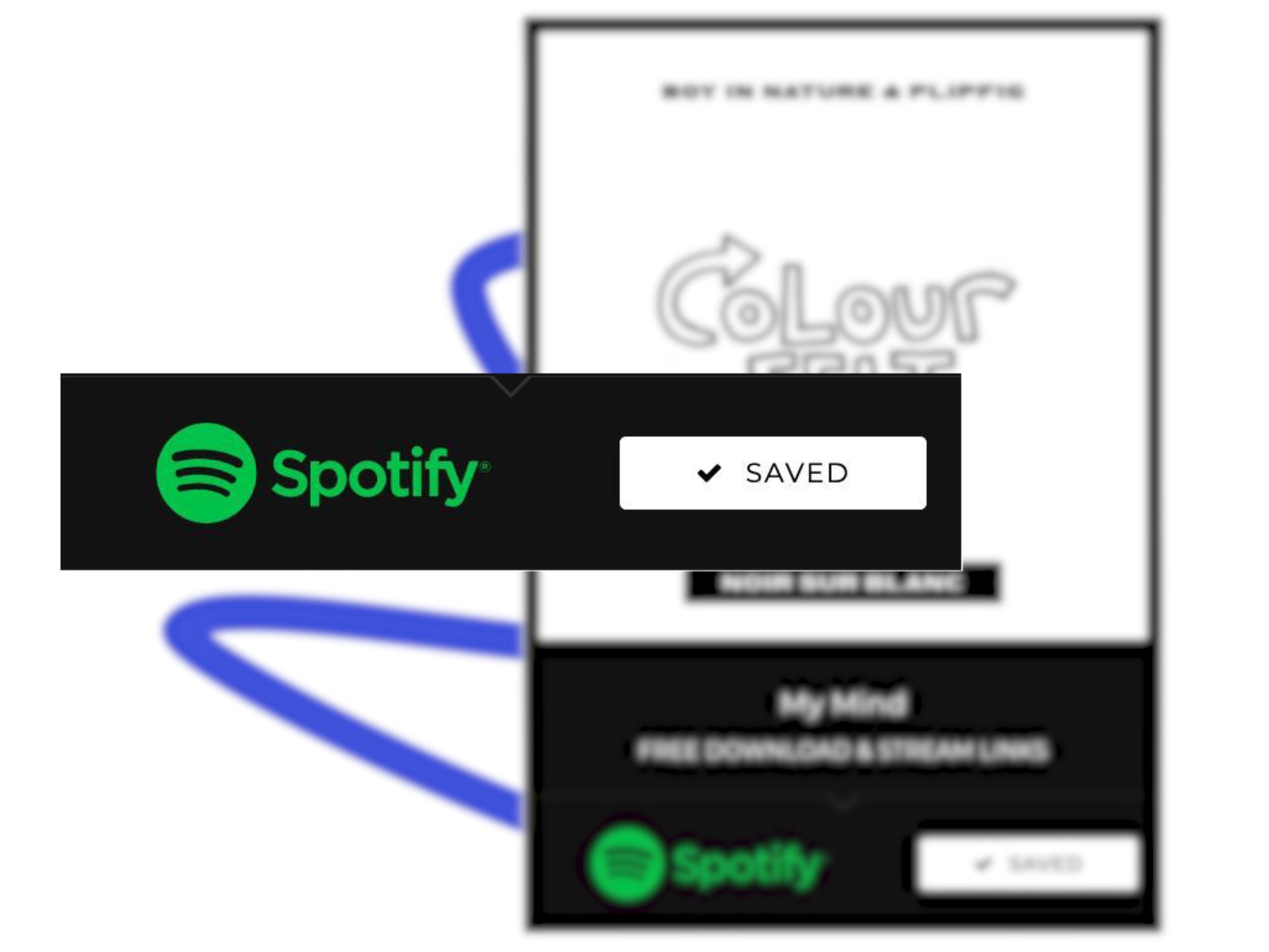 Spotify pre save